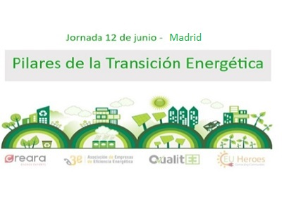 Jornada co-organizada por A3e: Pilares de la Transición Energética
