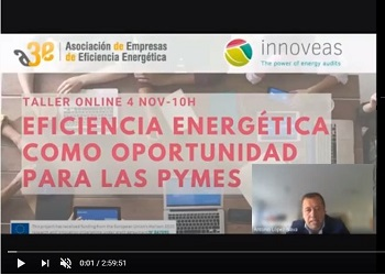 A3e organiza un taller para mejorar la eficiencia energética en las pymes