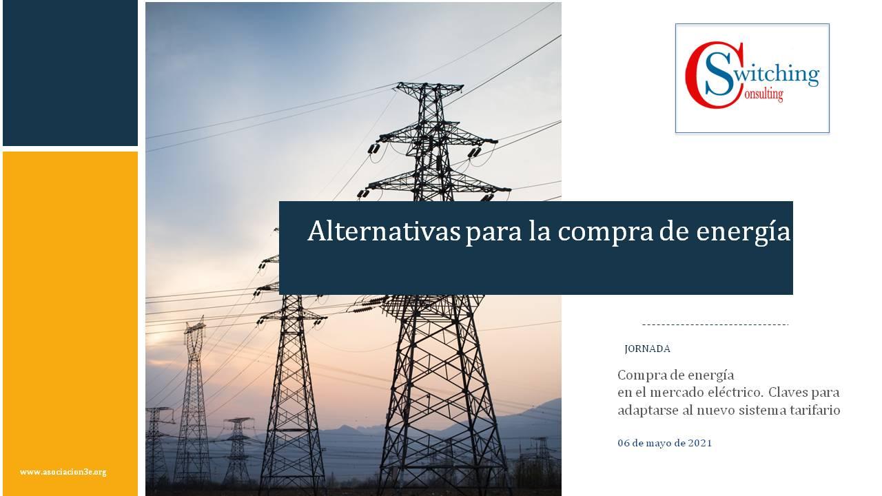 Alternativas para la compra de energía