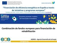Combinación de fondos europeos para financiación de rehabilitación
