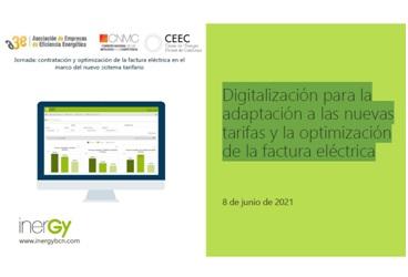 Digitalización para la adaptación a las nuevas tarifas y la optimización de la factura eléctrica