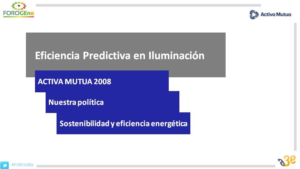 Eficiencia Predictiva en iluminación