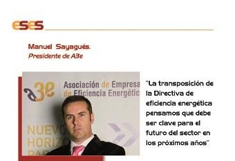Entrevista a Manuel Sayagués