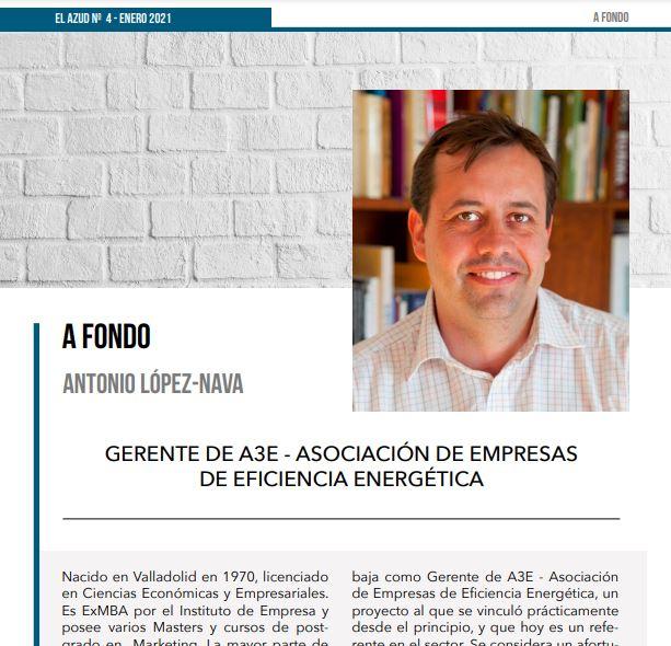 Entrevista Antonio López-Nava para la Revista El Azud