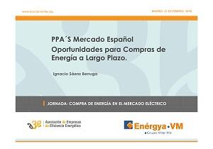 Estrategias de compra de electricidad a largo plazo. Contratos PPAs.