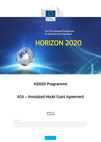 H2020 Programme  AGA – Annotated Model Grant Agreement