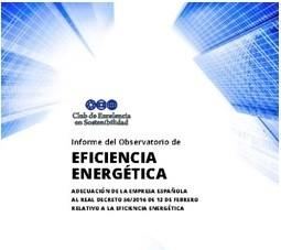 Informe del Observatorio de Eficiencia Energética 2016
