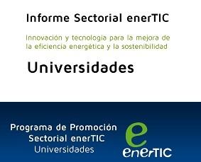 Innovación y tecnología para la mejora de la eficiencia energética y la sostenibilidad: Universidades