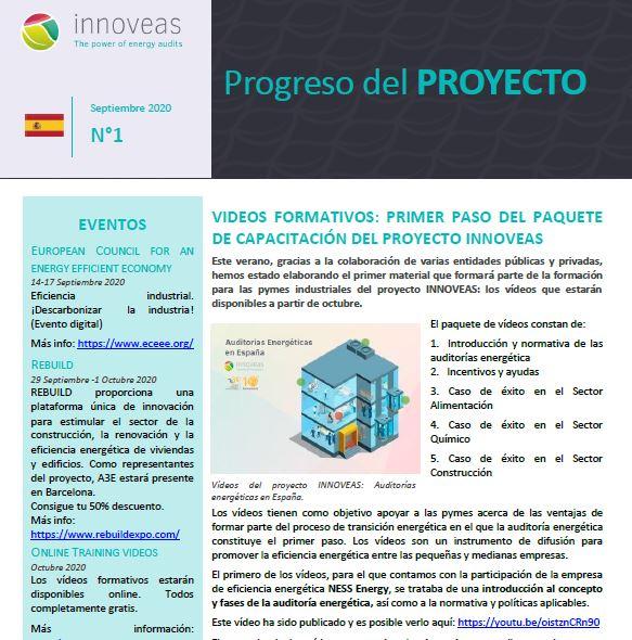 INNOVEAS Newsletter Septiembre 2020