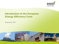 Introduction to the European Energy Efficiency Fund