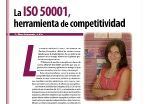 La ISO 50001, herramienta de competitividad