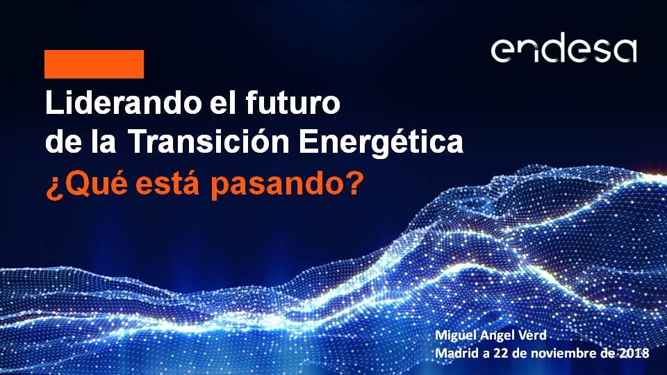 Liderando la transición energética