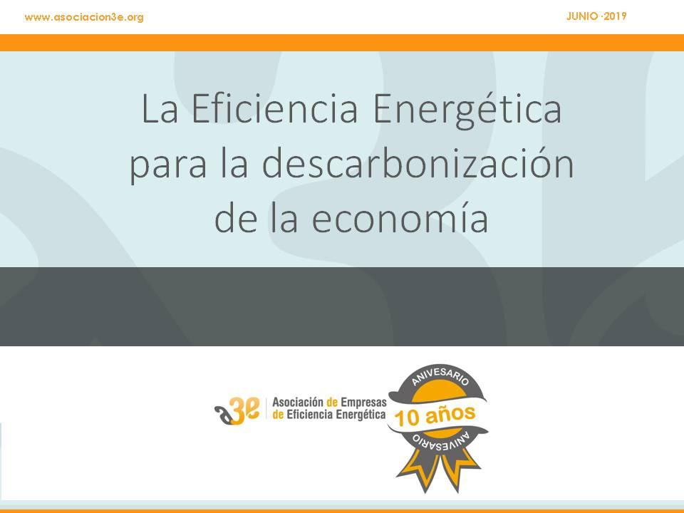 Perspectivas del sector de la eficiencia energética