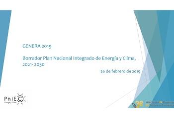 Presentación del Plan Nacional Integrado de Energía y Clima (PNIEC)