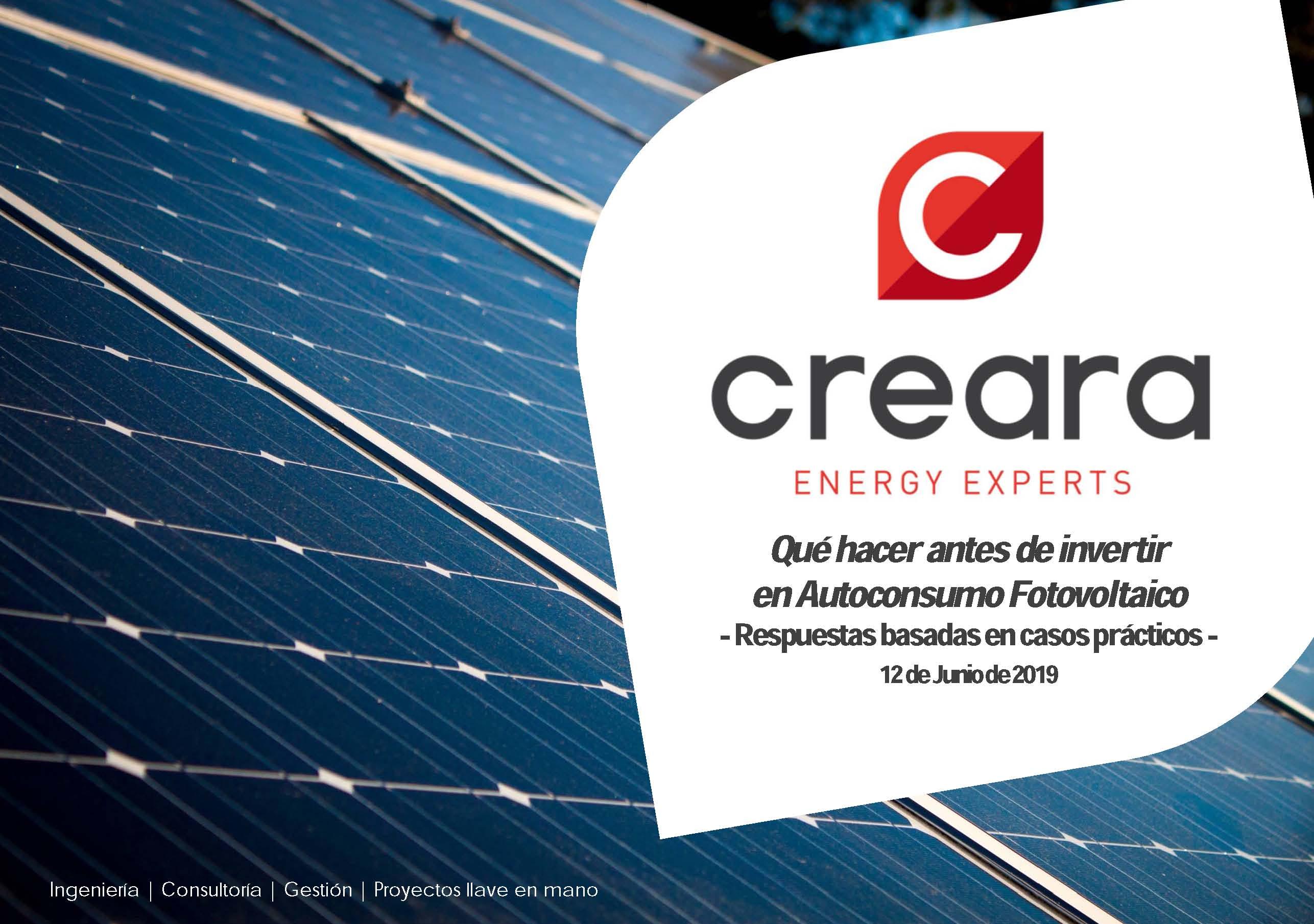 Qué hacer antes de invertir en Autoconsumo Fotovoltaico -Respuestas basadas en casos prácticos