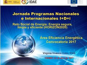 Reto Social de Energía: Energía segura, limpia y eficiente (HORIZON2020)