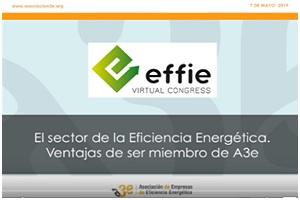 Situación del sector de la Eficiencia Energética - Ventajas de ser miembro de A3e