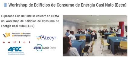 Workshop de Edificios de Consumo de Energía Casi Nulo (Eecn)