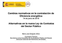 Alternativas en la nueva Ley de Contratos del Sector Público