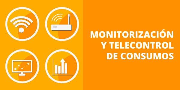 Monitorización y telecontrol de consumos