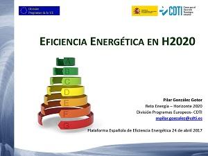 Eficiencia Energética en H2020
