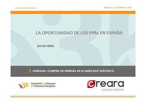 La oportunidad de los PPA en España