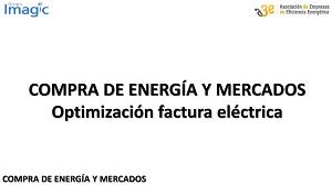 Optimización factura eléctrica