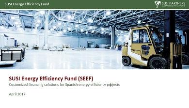 Presentación del Fondo de Eficiencia Energética SUSI para la financiación de proyectos en España