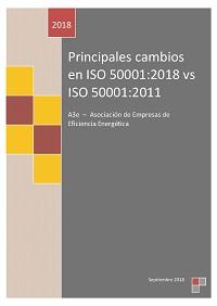 Principales cambios ISO 50001:2018