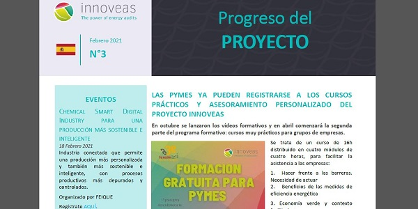 Boletín INNOVEAS Febrero 2021