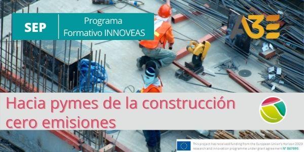Programa formativo para empresas de la construcción cero emisiones-Septiembre