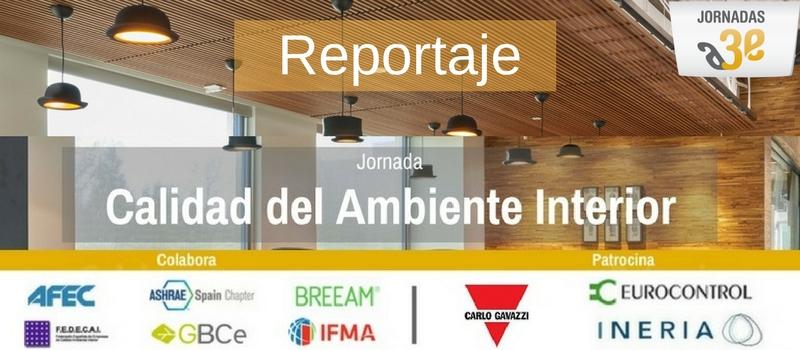 Jornada A3e - Calidad del Ambiente Interior