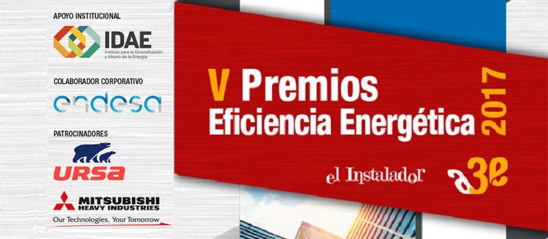 V Premios de Eficiencia Energética A3e -El Instalador