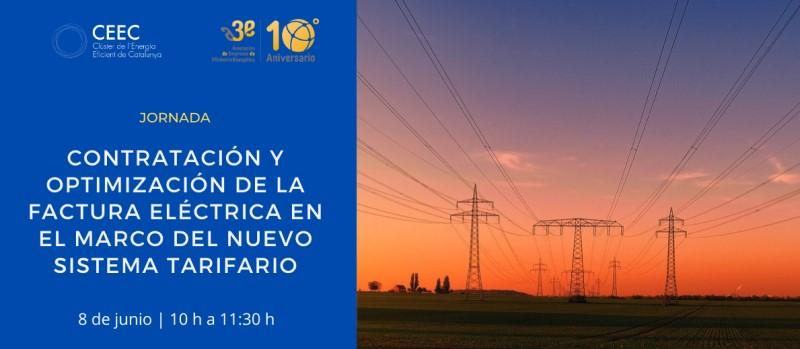 Webinar A3E-CEEC con la colaboración de CNMC sobre el nuevo sistema tarifario, el 8 de junio