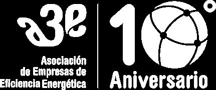 Logo A3e Alternativo Décimo Aniversario